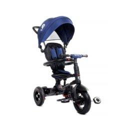 Трехколесный складной велосипед Q Play синий (трансформер)